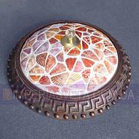 Тиффани бра, светильник настенный IMPERIA трехламповый LUX-341013