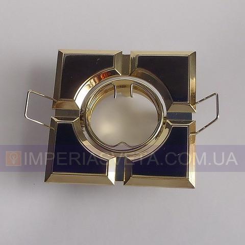 Светильник точечный встраиваемый для подвесного потолка FERON квадратный поворотный LUX-324563 - Angelic Home в Харькове