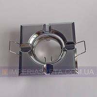 Светильник точечный встраиваемый для подвесного потолка FERON квадратный поворотный LUX-324560