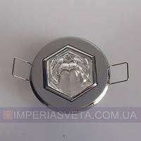 Светильник точечный встраиваемый для подвесного потолка FERON с кристаллом LUX-314464