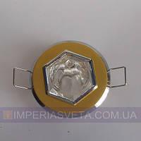 Светильник точечный встраиваемый для подвесного потолка FERON с кристаллом LUX-315514