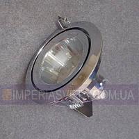 Светильник точечный встраиваемый для подвесного потолка IMPERIA неповоротный со стеклом LUX-121612
