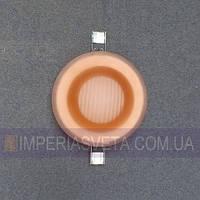 Светильник точечный встраиваемый для подвесного потолка IMPERIA стеклянный закрытый LUX-125050