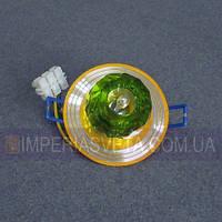 Светильник точечный встраиваемый для подвесного потолка TINKO с плафоном LUX-434346