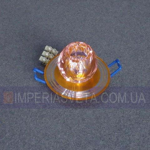 Светильник точечный встраиваемый для подвесного потолка TINKO с плафоном LUX-434351