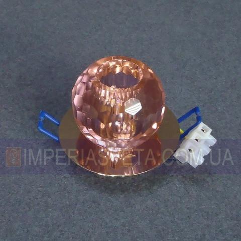 Светильник точечный встраиваемый для подвесного потолка TINKO с плафоном LUX-434363