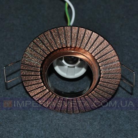 Светильник точечный встраиваемый для подвесного потолка FERON поворотный LUX-320643