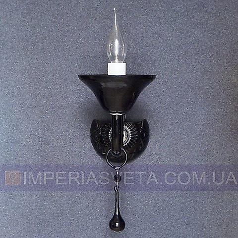 Хрустальное  бра, светильник настенный IMPERIA одноламповое LUX-434632