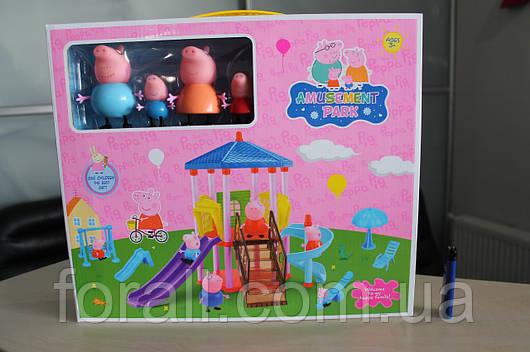 Игровая площадка свинки Пеппы с семьёй. PP6044