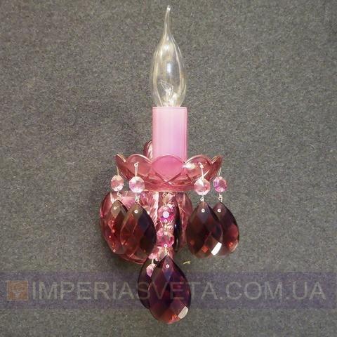 Хрустальное бра, светильник настенный Preciosa одноламповое декоративное LUX-320252