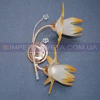 Декоративное бра, светильник настенный IMPERIA двухламповое LUX-153666