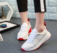 Белые женские кроссовки на каждый день