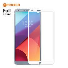 Защитное стекло Mocolo 2.5D 9H на весь экран для LG G6 H870 белый