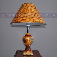 Светильник настольный декоративный ночник IMPERIA одноламповый с абажуром LUX-442455
