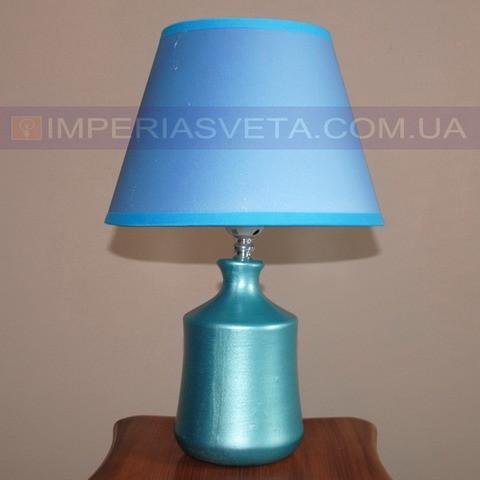 Светильник настольный декоративный ночник IMPERIA одноламповый с абажуром LUX-502040