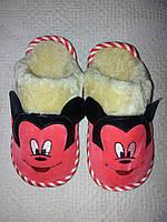 Детские комнатные тапочки Микки Маусы