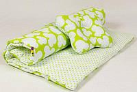Детский комплект в коляску (зима, осень, весна) Микки- одеяло 65 х 75 см подушка 22 х 26 см