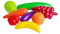 """Набор фрукты и овощи """"Орин"""" 8 предметов"""