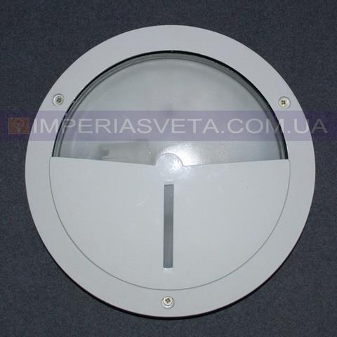 Уличный накладной светильник, влагозащищенный IMPERIA одноламповый антивандальный LUX-342612
