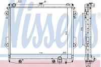 Радиатор охлождения LEXUS LX 570 (07-) (пр-во Van Wezel)