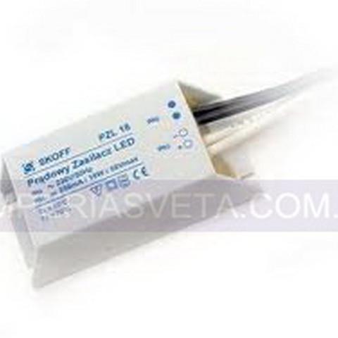 Трансформатор, блок питания 10 вольт для светодиодных светильников SKOFF  со стабилизацией напряжения PZL-18