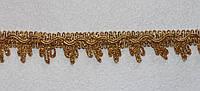 Тасьма декоративна люрекс золото 6131, фото 1