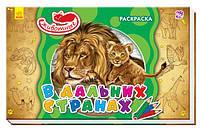 Раскраски для детей Животные В дальних странах (А583001Р)