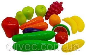 """Набор фрукты и овощи """"Орин"""" 16 предметов"""