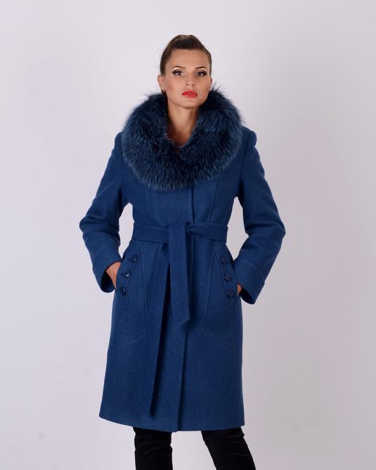 Жіноче зимове пальто шерсть М 5070_15