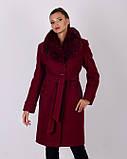 Жіноче зимове пальто шерсть М 5070_15, фото 6