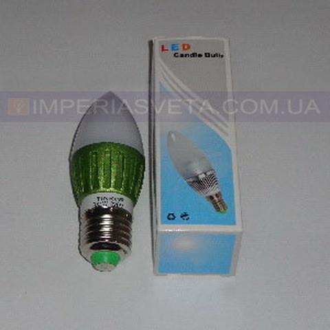 Светодиодная лампочка TINKO LED-220V 3LED*1W E-27 свеча LUX-465415