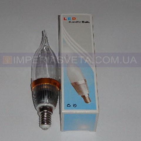 Светодиодная лампочка TINKO LED-220V 1LED*3W E-14 свеча на ветру LUX-465416