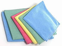 Микрофибровая салфетка для стекла и универсальная 5шт. в упаковке