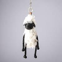 Брелок Барашек Шон белая шерсть L-30см (овечка)