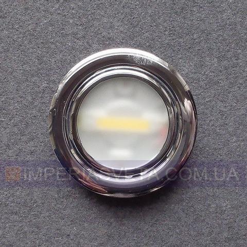 Мебельный светильник, подсветка SKOFF светодиодная встраиваемая LUX-446060