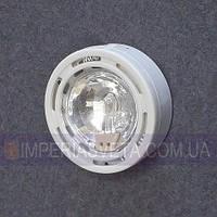 Мебельный светильник, подсветка IMPERIA галогенная накладная со стеклом LUX-124653