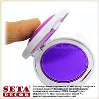 Цветная пудра для волос фиолетовая