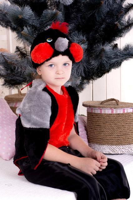 Дитячий новорічний костюм Снігур