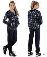 Подростковый костюм для девочки (темно-синий)
