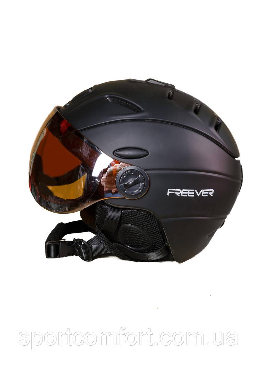 Шлем черный мужской с маской