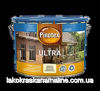 Декоративное средство защиты древесины с высокой устойчивостьюUltraPinotex (10л)