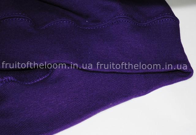 Фиолетовый мужской классический реглан