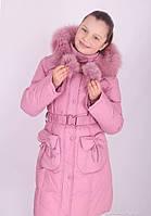 Пальто зимнее для девочки (Donilo)-1738