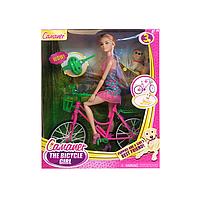 Барби на велосипеде   KQ057A