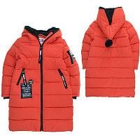 Детское зимнее пальто для девочки Кико 122-140.