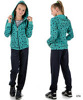 Подростковый костюм для девочки (мятный)