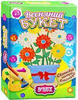 Деревянная раскраска Весенний букет ДеЛюкс (84488)