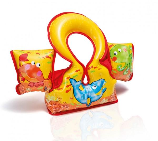 Жилет нарукавники 2в1 для детей 3-6 лет 66*44 см (58673) - Магазин игрушек «Детишки» в Киеве