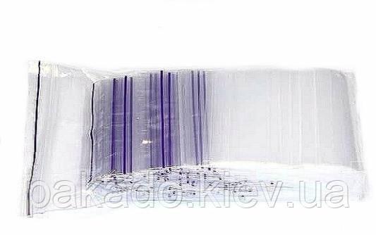 Фасовочный пакет 150х250 с замком zip-lock (100шт/уп)