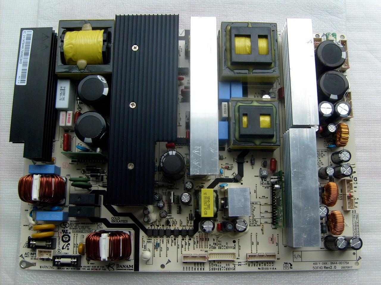 Плата PDP телевизора Samsung PS50P9 BN44-00175A
